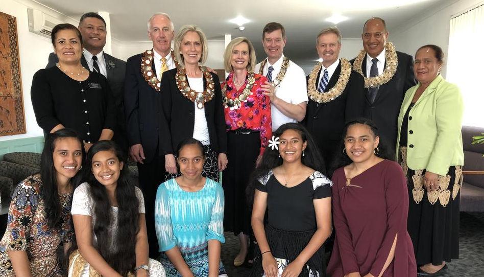 actualités du 16 au 22 novembre 2018: visite des Soeurs Cordon et Jones au Tonga