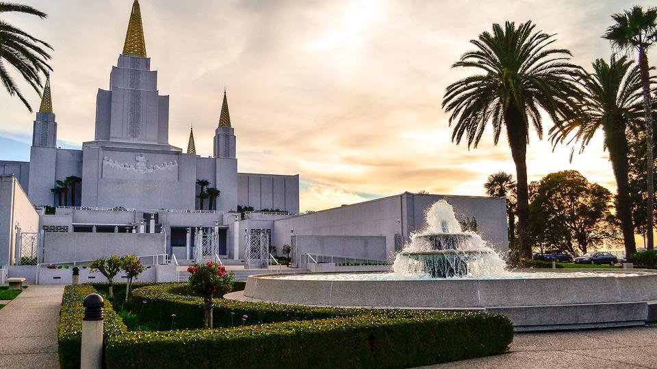 temple d'Oakland, Californie, va être re-consacré le dimanche 16 juin 2019. Actualités de l'Eglise