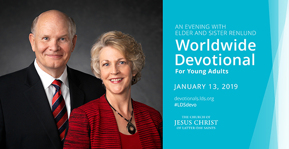 Elder et Soeur Renlund seront les orateurs pour la veillée mondiale du 13 janvier 2019