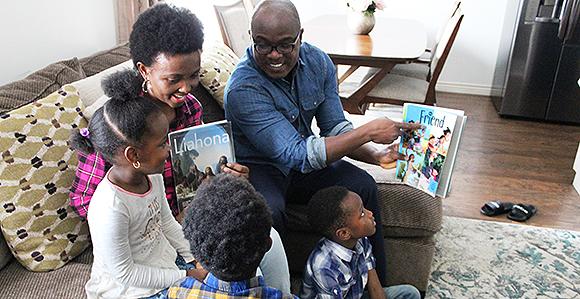 ctualités du 10 janvier 2019: magazine pour les enfants distribué avec le Liahona