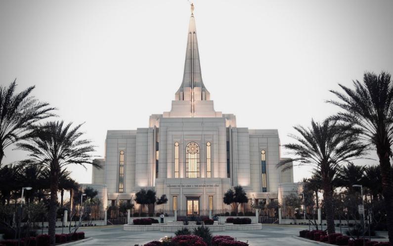 continuez à aller au temple