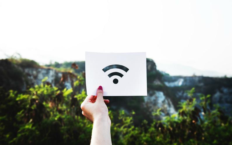 là où il n'y pas de wifi