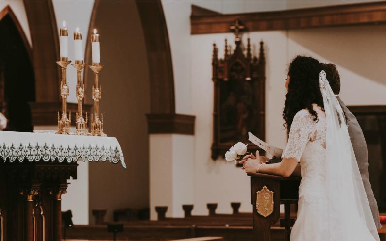 mariage dans des autres églises