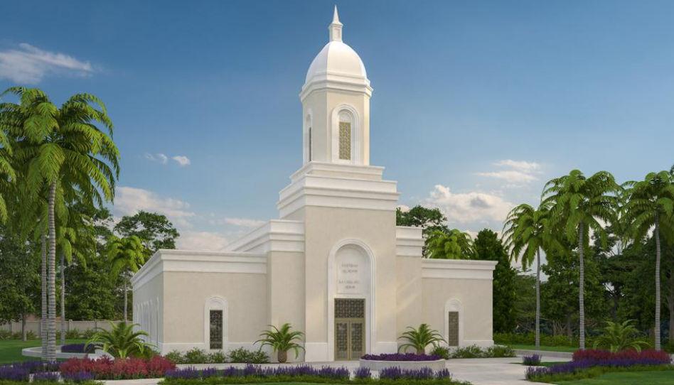 design du temple de Puerto Rico