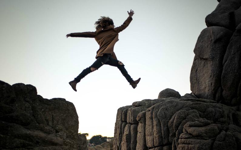 take the leap - la peur est une raison des révélations opposées