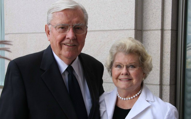 Président Ballard et sa femme