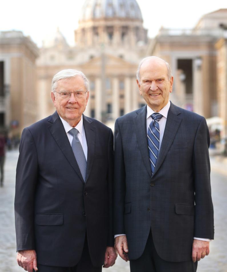 Président Nelson et Président Ballard