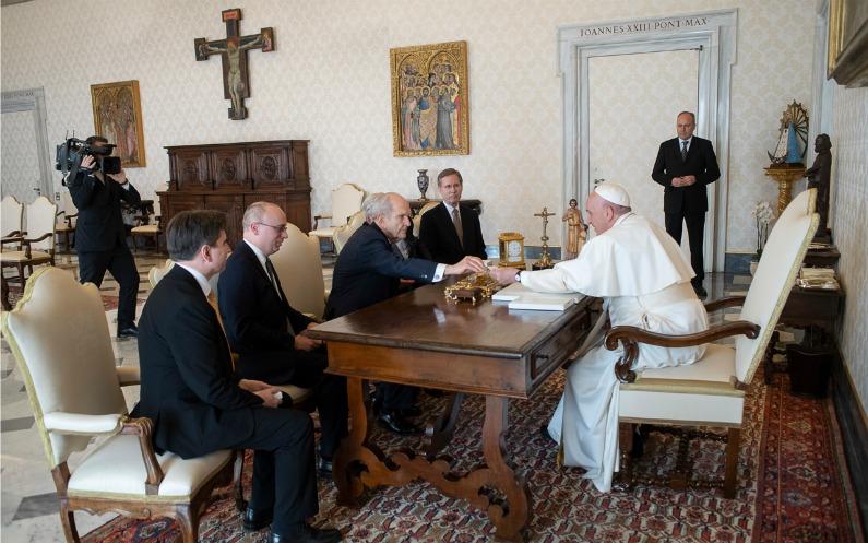 Rencontre au Vatican