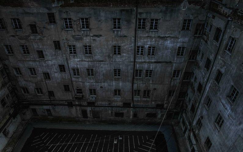 un camp de concentration