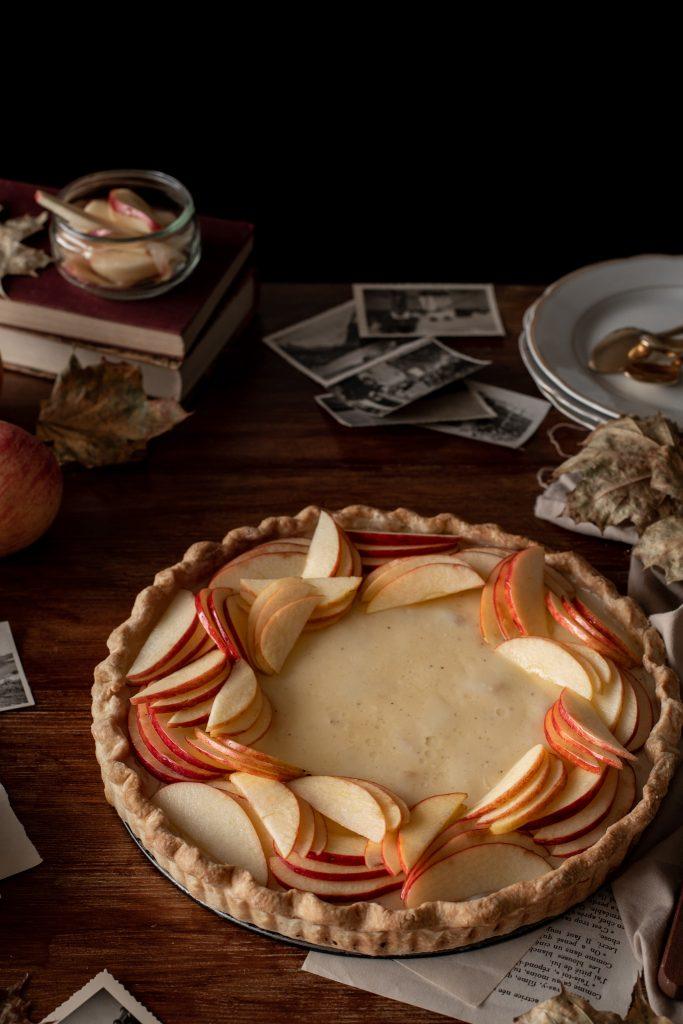 tarte pommes vanille 2020