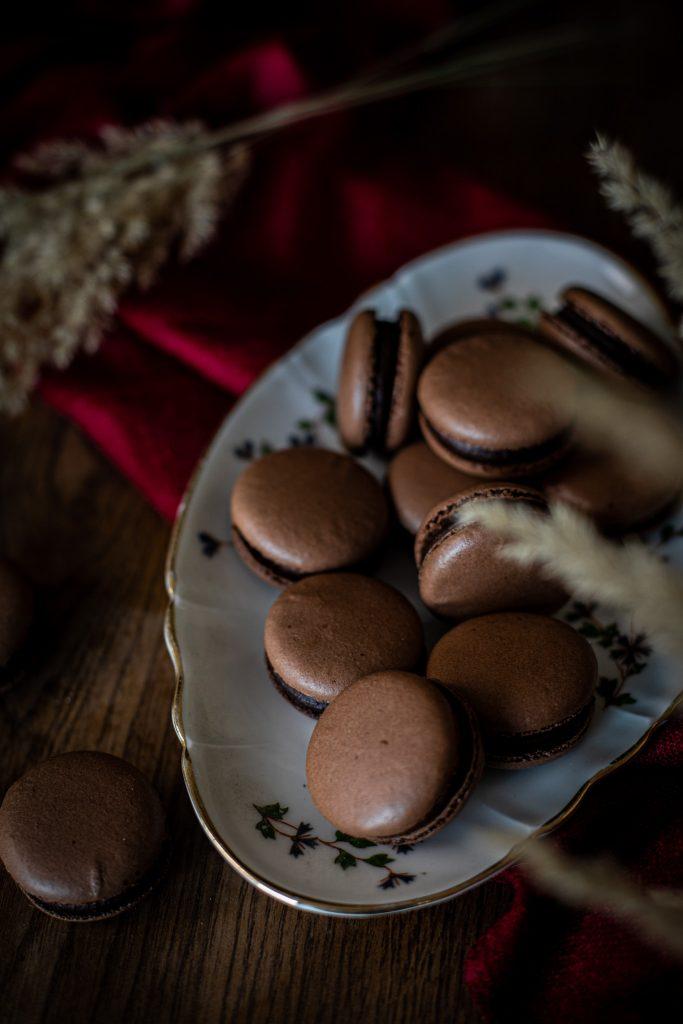 macarons chocolat 2020